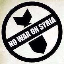 NoWarOnSyria