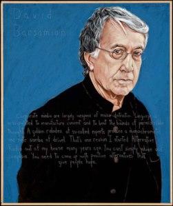 David Barsamian - Robert Shetterly Portrait