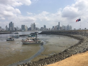 Beyond Mercado Mariscos, the Panama City commercial district. Photo: Bart Bolger